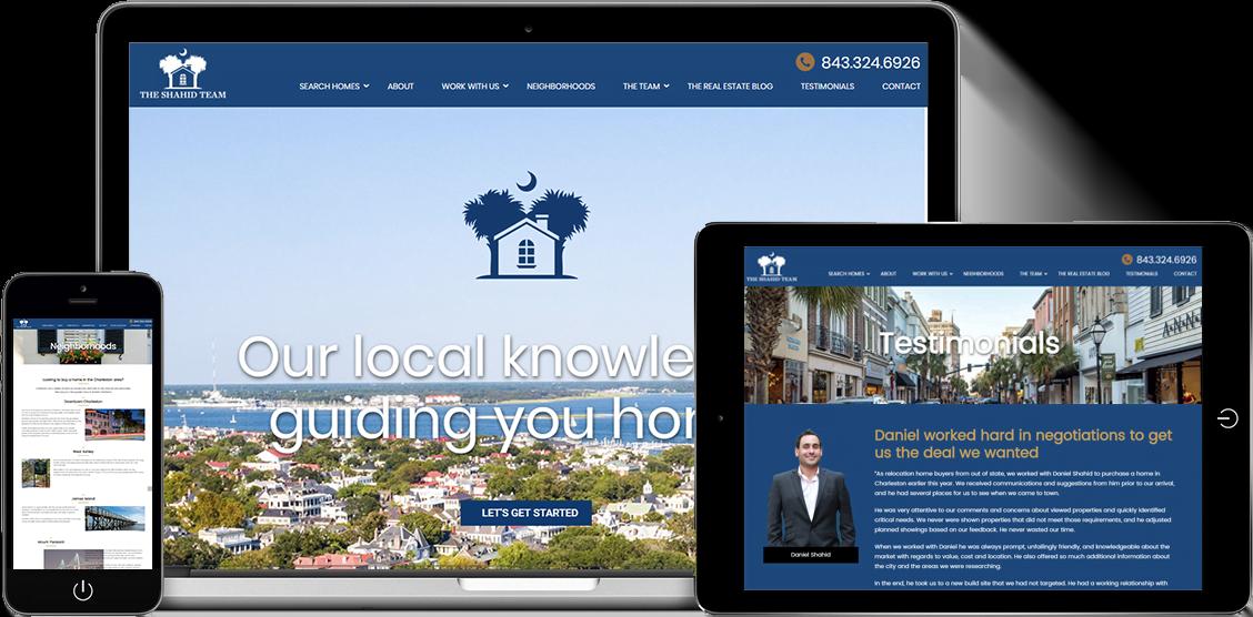 Charleston SEO Firm and web design