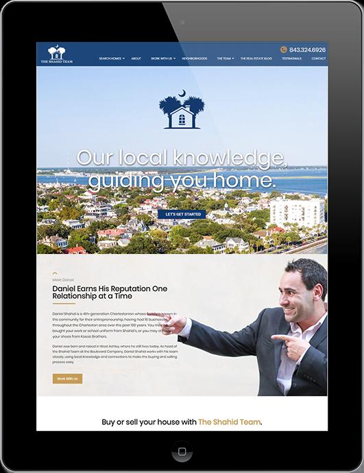 web design Charleston SC and South Carolina SEO